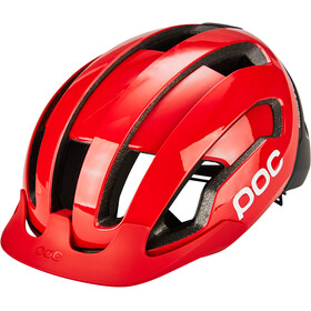POC Omne Air Resistance Spin Casco, prismane red